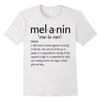 Melanin Defined T-Shirt - Melanin Definition Shirt