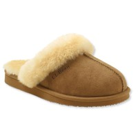 Wicked Good Shearling-Lined Slides