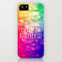 Somewhere Over the Rainbow iPhone Case by Caleb Troy | Society6