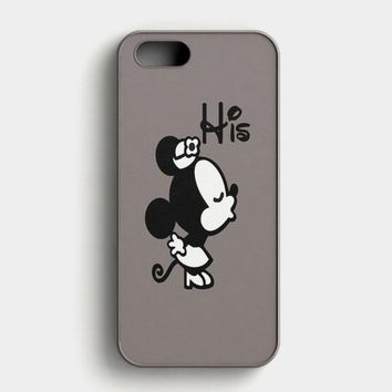 Minnie Mouse His iPhone SE Case