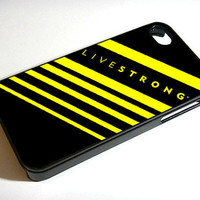 LIVESTRONG- iPhone 4 Case, iPhone 4s Case ,iPhone 5 case  and Samsung galaxy s3 Hard Plastic Case