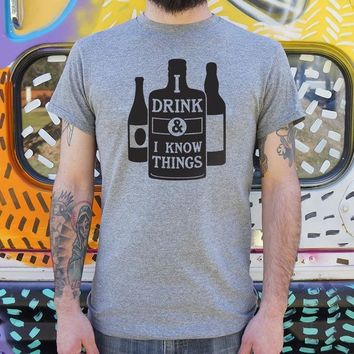 I Drink and I Know Things [Tyrion Lannister] Men's T-Shirt