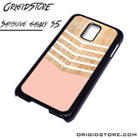 Chevron Pink Wave Case For Samsung Galaxy S5 Case
