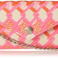 Rebecca Minkoff Mini Wallet On A Chain (Pink/Orange) | Highly Fashionable