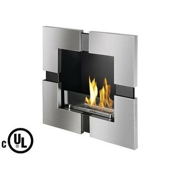 "Ignis Tokio - 24"" UL Listed Built-in/Wall Mounted Ethanol Fireplace (WMF-101-UL)"