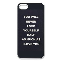 Fashion One Direction Personalized iPhone 5 Hard Case Cover -CCINO