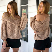 Janessa Off-Shoulder Sweater