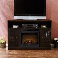 Indoor Electric Fireplace and TV Media Console Stand