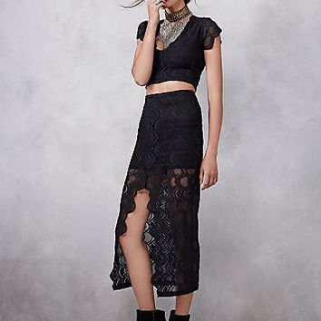 Nightcap Womens Victorian Lace Midi Set
