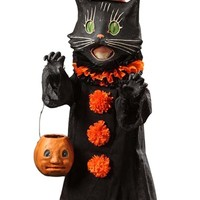 Bethany Lowe Designs 'Scaredy Cat Ghoul' Decoration - Black