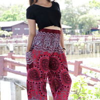 Harem pants Hippies pants Boho pants mandala Yoga Pants Trouser one size fits
