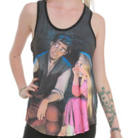 Disney Tangled Dreaming Couple Girls Tank Top 3XL