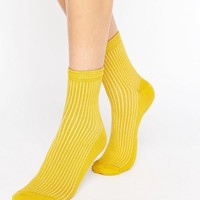 ASOS Ribbed Ankle Socks at asos.com