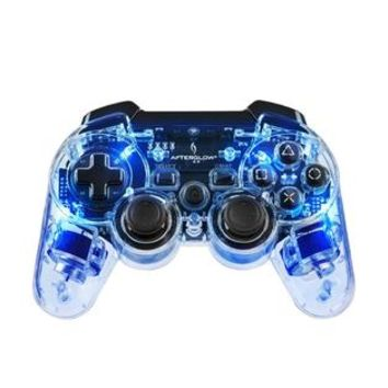 Performance Designed Products Blue Afterglow PS3 Wireless Controller