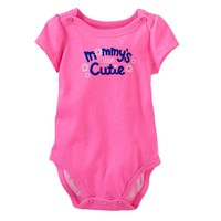 Jumping Beans ''Mommy's Little Cutie'' Bodysuit