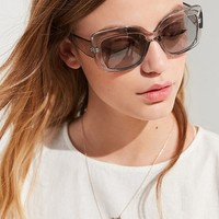 Tori Translucent Square Sunglasses | Urban Outfitters