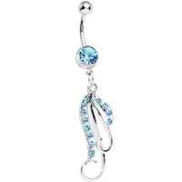 Aqua Perfection Belly Ring | Body Candy Body Jewelry