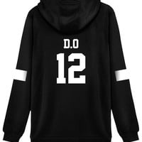 KPOP EXO Hoodie Sweater 12 D.O. Jacket Pullover