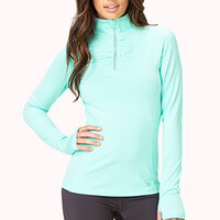 Ruched Trim Athletic Jacket | FOREVER 21 - 2017306368