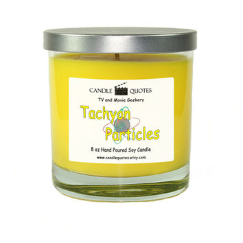"Tachyon Particles – All ""Stars"" Series 8 oz Scented Soy Candle"