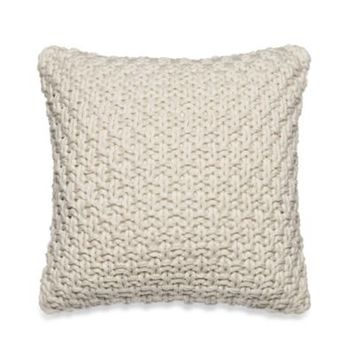 Kenneth Cole Reaction Home Mineral Knit Square Throw Pillow