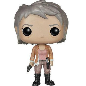 FUNKO POP Walking Dead Carol Peletier SOFT VINYL BOBBLEHEAD ACTION FIGURE NEW