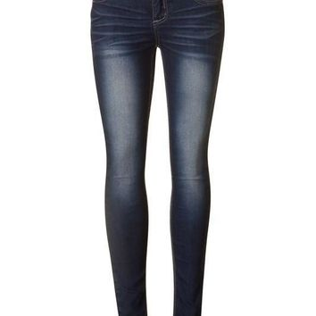 Lori Dark Denim Skinny Jeans