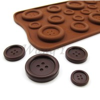 Hot Sale Useful Silicone Chocolate Ice-Cubes Tray Mold For Button Shape Cooking Tools JJ_0258 = 5658096897