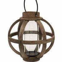 Garrett Wood Lantern Home Decor-IMAX
