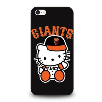 HELLO KITTY SAN FRANCISCO GIANTS iPhone SE Case Cover