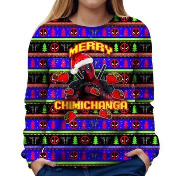 Merry Chimichanga Womens Sweatshirt