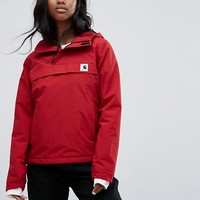 Carhartt WIP Pullover Jacket In Water Repellant Fabric With Hood at asos.com