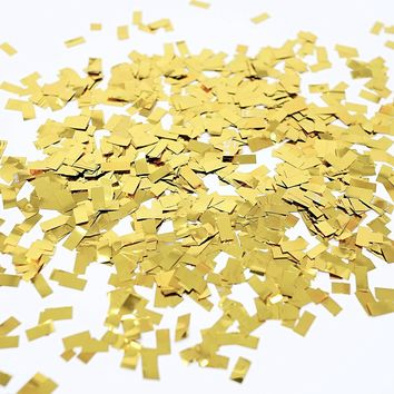 Metallic Gold Foil Shredded Confetti Paper Glitter Party Decoration