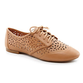 Gianni Bini Ollee Laser-Cut Perforated Oxfords | Dillard's Mobile