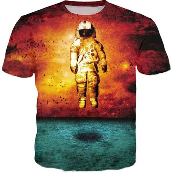 Astronaut T-Shirts - Men's Top Tee