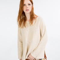 RUSTIC CHECK SWEATER - KNITWEAR-SALE-WOMAN | ZARA United Kingdom