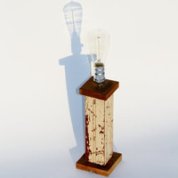 New Orleans Reclaimed Beadboard Lamp by RestorationHarbor