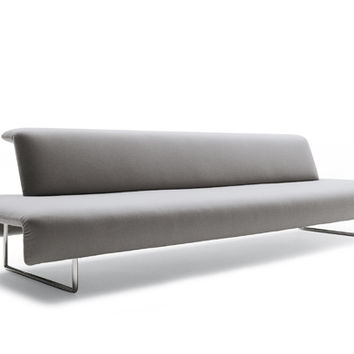 medium cloud bench with back