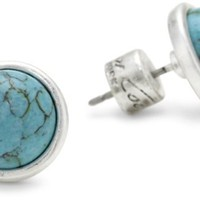 "Kenneth Cole New York ""Urban Seychelle"" Semi-Precious Turquoise Stud Earrings"
