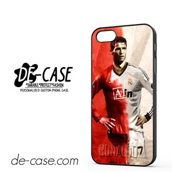 Cristiano Ronaldo Manchester United And Real Madrid DEAL-2859 Apple Phonecase Cover For Iphone 5 / Iphone 5S