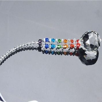 K9 Crystal Clear Faceted Ball Drop Prisms Glass Chandelier Pendants Party Decoration Accessories Hanging Parts