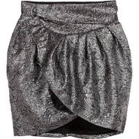 Jacquard-weave Skirt - from H&M