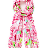 Lilly Pulitzer Printed Lilly Scarf - First Impression