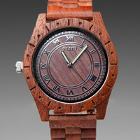 FLUD WATCHES Big Ben in Redwood at Revolve Clothing - Free Shipping!
