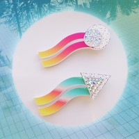 HEAT WAVES Brooches