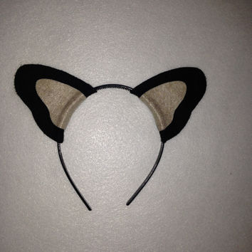 Custom Puppy Dog Ears Headband Corgi Chihuahua Terrier Austrailian Collie German Shepard Yorkshire Doberman Boston Terrier Boxer Great Dane