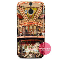 I Love Carnaval Circus HTC One Case M9 M8 One X Cover