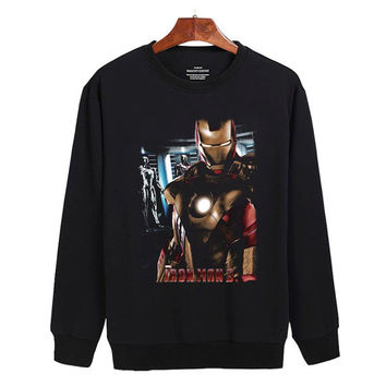 Iron Man Sweater sweatshirt unisex adults size S-2XL