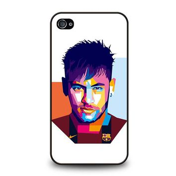 NEYMAR .JR MOZAIC iPhone 4 / 4S Case Cover