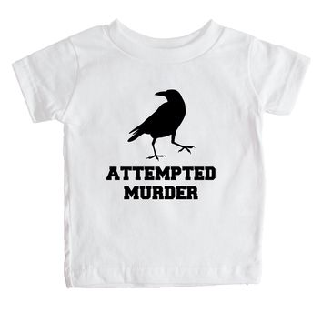Attempted Murder  Baby Tee
